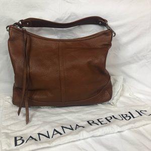 BANANA REPUBLIC LEATHER HOBO